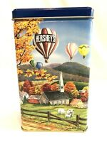 1994 Hershey's Hometown Series Canister #11 Made in the USA Fall Hot Air Balloon
