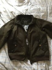 Barbour International  Steve Mcqueen Flight Jacket