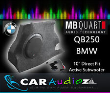 MB Quart QB-250 BMW1 Active Box 25cm Aktive Brauch Subwoofer Box QB250 BMW1 BEST