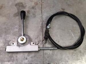 Heavy Duty Lever cable kit - concrete truck PTO accelerator 2.0M
