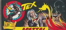 Rare original italian comic strip TEX SERIE COBRA # 8 year 1966 SPETTRI