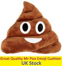 Mr Poo Emoji Cushion Plush Soft Toys For Kids Fun Pillow Smiling Hot Gift Funny