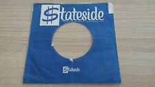 "original company sleeve for 7"" singles stateside"