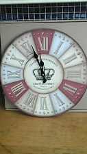 Chateau Canet Wall Clock 33 cm New in Box