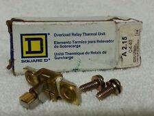 Square D A2.15 Overload Terminal Relay - NOS Surplus