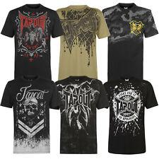 Tapout Herren T-Shirt MMA Shirt Tee Kamfsport Logo Box Print Street NEU