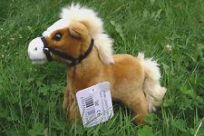 Pferd, stehend (hellbraun) 20 cm mit Stimme