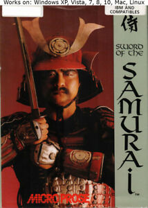 Sword of the Samurai PC Mac Game 1989 Windows XP Vista 7 8 10
