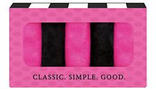 Makeup Remover Cloth 5 Pack Pink Black Chemical Free Microfiber Towel Gift Set