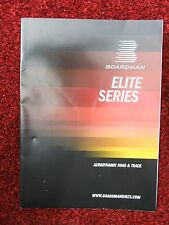 2016 BOARDMAN ELITE SERIES ROAD & TTE TRIATHLON BIKES FOLD OUT CATALOGUE - NEW