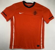Nike Dri-Fit KNVB Nederland Netherlands Soccer Jersey Orange Youth  Large A29