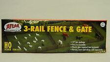 Atlas 777-3 tren madera tipo valla & Gate 183cm H0 / calibre 00 kit de Plástico