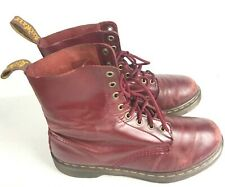 Dr. Martens Women's Pascal 8-Eye Casual Boot Sz 10 Red