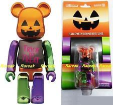 Medicom Be@rbrick 2012 Halloween 100% Trick or Treat Metallic Pumpkin Bearbrick