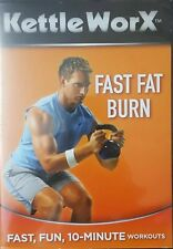Kettle Worx Fast Fat Burn (DVD) DISC & COVER ART ONLY NO CASE UNUSED CONDITION
