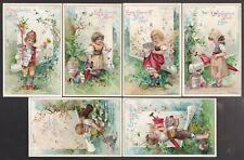 1898 GERMAN LIEBIG TRADE CARDS SET #557 !! DD51