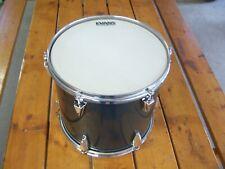 """Vintage 13"""" Tama Granstar Gun Metallic Gray Tom Tom Drum Metal Grey SHIPS FREE"""