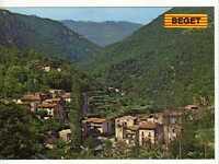 Postal Beget ( Girona ) Vista general.