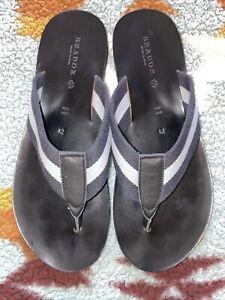 RARE🔥 BRADOR Made in Italy Chromo Sandals Sz 9 US 42 EUR Pre Owned