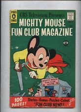 Paul Terrys Mighty Mouse Fan Club #3 100 pages  Golden age  cartoon comic