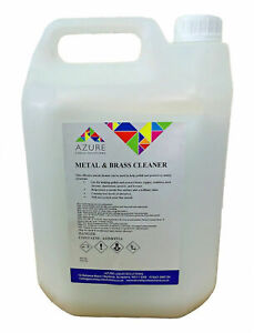 Azure Metal & Brass Cleaner Polish & Protects Metal - Professional Use - 5L mat1