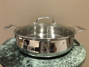 CUISINART 5.5-QT STAINLESS CASSEROLE W/ COVER M4555-30