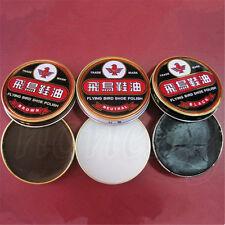 1pc Useful Flying Bird Leather Shoe Wax Polish High Gloss Shine 40g  3 Color