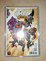 X-MEN GOLD #1 1st Print SIGNED By STAN LEE Recalled Comic Rare Gem Marvel Comics