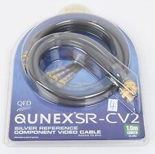QED Qunex SR-CV2 NEU Component Video Digital-Kabel Cinch/BNC 1,0 m UVP € 220,00