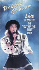 Debbie Gibson VHS Video LIVE In Concert Out of the Blue Tour Pittsburgh, PA 1989