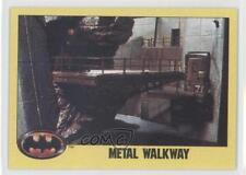 1989 Topps Batman #200 Metal Walkway Non-Sports Card 0b6