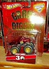 Hot Wheels Monster Jam RLC Exclusive Grave Digger 30th Anniversary