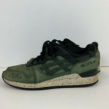 New Balance Gel Lyte 3 After Hours Running Shoes Leather Green H5P4L Size 10.5