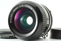 **Near Mint** Nikon Ai Nikkor 28mm F2 Wide Angle MF F Mount Lens From Japan #471