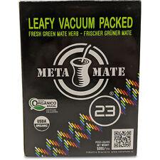 Fresh Green Yerba Mate by Meta Mate 23 | Vacuum-Packed Loose Leaf Yerba Mate