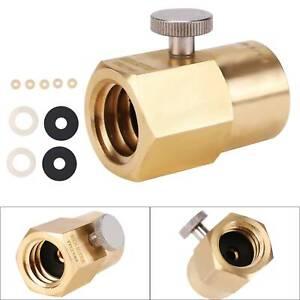 Neu Umfüll Adapter aus grossen CO2 Flaschen 425g Zylinder für Sodastream DE