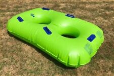 Two-person pool inflatable - Green (Waterpark standard), Brand new condition.