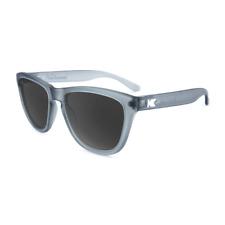 KNOCKAROUND Sunglasses Premiums Frosted Grey Gray Smoke Matte Sun Glasses NEW