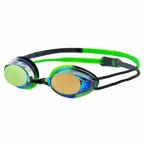 Vorgee Swimming Goggles - Missile Fuze Rainbow Mirror  Black