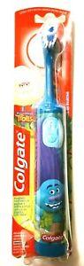 New Colgate Trolls Battery toothbrush Extra Soft Bristles Multicolor B55.3