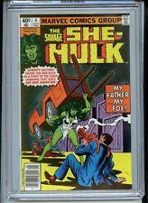 Savage She-Hulk #4 CGC 9.6 White 1980