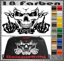 Skull OPEL Benz Power Aufkleber Sticker Totenkopf Heckscheiben OPC Corsa Astra