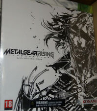 Metal Gear Rising Revengeance Limited Edition,XBOX360 + Kai Raiden Figur,NEU&OVP