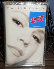 MARIAH CAREY MUSIC BOX NEW CASSETTE WITHOUT HERO DREAMLOVER NEVER FORGET YOU