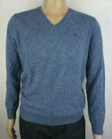 Men`s New Pure Lambswool V-Neck Jumper Sizes S-M-L-XL-2XL-3XL Sweater