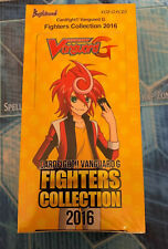 Cardfight Vanguard G - Fighters Collection 2016 Booster Box - VGE-G-FC03