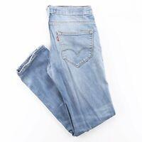 LEVI'S 511 Blue Denim Slim Straight Jeans Mens W34 L34