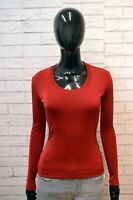 MOSCHINO Donna XS Maglia Slim Fit Pullover Felpa Sweater Shirt Women's Casual