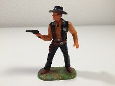 Cowboy/Sheriff mit Pistole, 7cm Elastolin