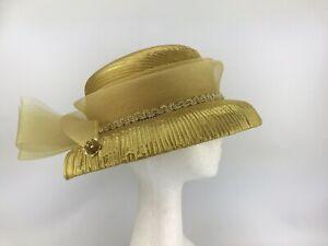 Ladies Vintage Lamai Covered Hat